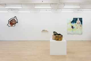 "Install shots from ""Beside Myself"" Curated by Dan Herschlein at JTT"